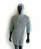 New Medieval Chain mail Armor Knight Renaissance Steel  Colored Adult  L