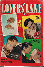 LOVERS' LANE #27 (1952) Lev Gleason Comics  GOOD