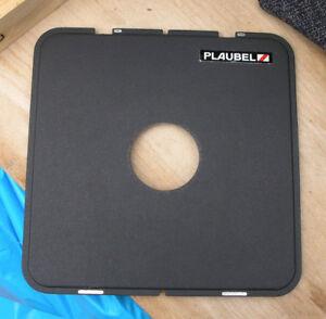 later 5x4 10 x 8 plaubel peco ridged lens board  compur copal 1 41.6mm hole
