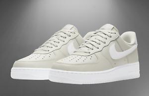 Nike Air Force 1 One Low Light Bone Grey White Black CT2302-001 Men Retro OG All