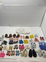 Lot Of Random Doll Shoes And Accessories Mint Condition - 26 Pairs