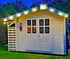Led Lichterkette Timer Party Glühbirne außen warmweiß Drahtlichterkette 4,5m
