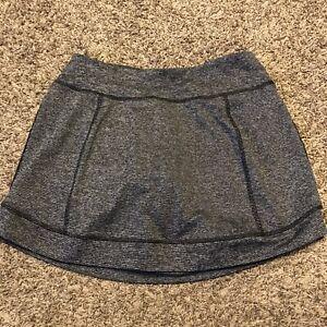 tek gear womens size S gray skort polyester blend a31