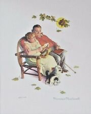Norman Rockwell Fondly Do We Remember Lithograph