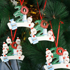 Quarantine Christmas Decoration DIY Personalized Christmas Tree Hanging Ornam AG
