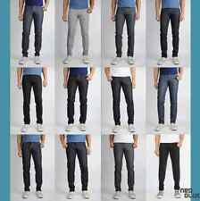 NWT New Men's Neo Blue Skinny Jeans Rigid Dark Blue, All Black, Khaki, Rinse Blk