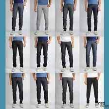 1 NEW Men's Neo Blue Skinny Jeans Rigid Dark Blue, All Black, Khaki, Rinse Blk