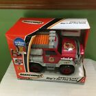 BRAND NEW VINTAGE RARE Matchbox® Rescue Net Map N' Go Fire Truck SHIPS FREE