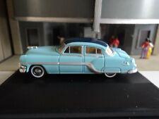 Oxford 1954 Pontiac Chieftain (4 door) Blue 1/87 Ho diecast car Gm