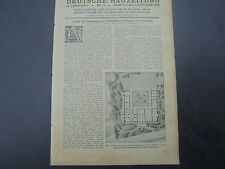 1924 Bauzeitung 79/Colonia walraf RICHARTZ