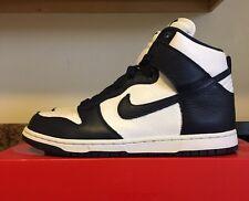 Nike Women's Dunk Retro QS 854340 101 Size 10 8.5 Men White Navy Hi High