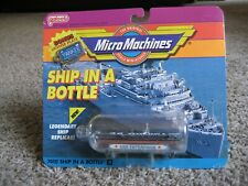 Galoob / Micro Machines, SHIP IN A BOTTLE~ USS ENTERPRISE ~1990, New In Package