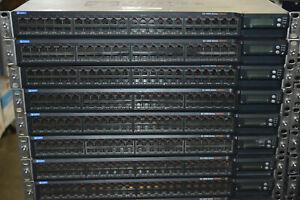 Juniper Networks 48-Port PoE+ Gigabit Switch EX4200-48PX w/ 2x EX-PWR3-930-AC