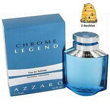 BNIB Azzaro Chrome Legend Eau de Toilette Spray, 2.6 fl oz. SEALED
