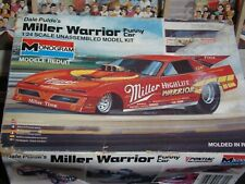 """""""MILLER WARRIOR"""" DALE PULDE'S SUPERCHARGER FIREBIRD FUNNY CAR BEAUTIFUL BODY"""