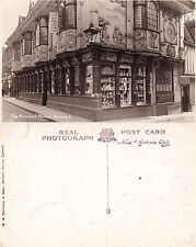 1930's THE ANCIENT HOUSE IPSWICH SUFFOLK UNUSED REAL PHOTOGRAPH POSTCARD