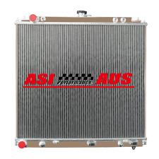 2 CORE Aluminum Radiator For Nissan Navara D40 YD25 2.5 Turbo Diesel 05-12 AT/MT
