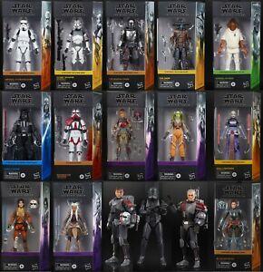 Star Wars THE MANDALORIAN TESB TCW REBELS The Black Series 6 Inch Figures 2021