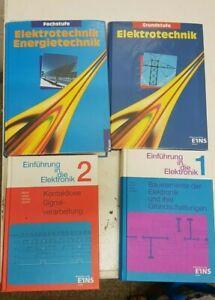 4 Elektrotechnik Lehrbücher