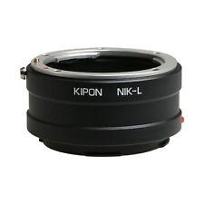 Kipon Adapter for Nikon F Mount Lens to Panasonica L Leica SL TL Camera