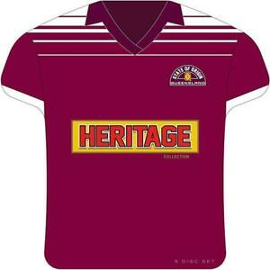 State Of Origin: Queensland Heritage Collection 5dvd - brand new sealed Tin set!