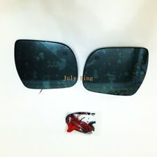 Rearview Mirror Lens for Toyota Sienna, anti-glare,Turn Signals, Electric Heat