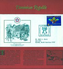U.S. Bicentennial, Dominican Republic FDC 5/29/1976 (STAMPS, POSTAGE, FREEDOM)