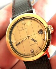 Rare et belle montre Vintage UTI GLYCINE Mouvement Automatic Old Watch 1962