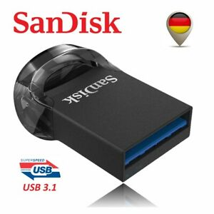 Sandisk Ultra Fit USB 3.1 Flash USB Stick 16GB 32GB 64GB 128GB 256GB Mini Klein