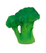 Oli & Carol - Brucy the broccoli - Natural Rubber Toy - Sensory play, teething