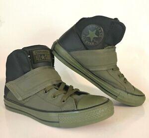 Converse Chuck Taylor G2 Strap X-Hi Mens 6 Womens 8 Sneaker 158429C Green