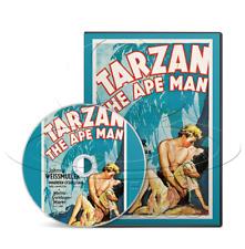 Tarzan the Ape Man (1932) Action, Adventure, Romance Movie / Film on DVD