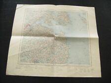 alte Landkarte Übersichtskarte des Deutschen Reiches Nr. 10 Schleswig von 1905