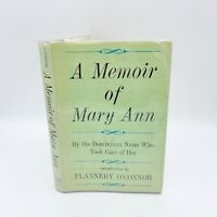 A MEMOIR OF MARY ANN The Dominican Nuns By Flannery O'Connor - First Edition