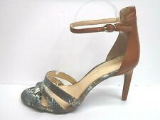 Jessica Simpson Size 9.5 Snake Sandals Heels New Womens Shoes