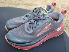 Women's Altra Footwear Paradigm 5 Msrp $159 Running Shoes Grey/Coral/Port sz 9