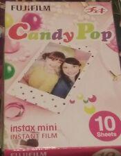 10 Sheets Candy Pop Fujifilm Instax Mini Instant Film For Fuji 7s 8 25 90 SP-1