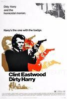 DIRTY HARRY VINTAGE MOVIE POSTER FILM A4 A3 ART PRINT CINEMA #2