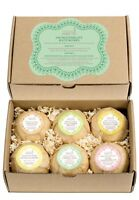Large Bath Bombs Set for Women 6 Exquisite Scents Luxury Spa Gift Set