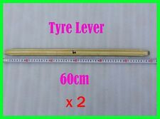"""2x 24"""" Tyre Lever Bars Tire Iron Changing Bar Remover Repair Tool"""
