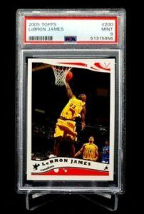 2005 Topps Lebron James #200 PSA 9 Cavs Heat Lakers