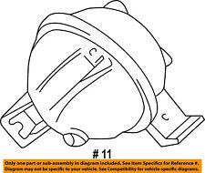 FORD OEM Evaporator-Vacuum Reservoir Canister Tank F67Z19A566BA