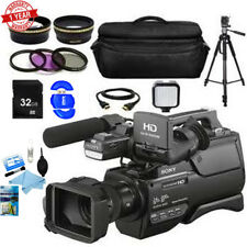 Sony HXR-MC2500 Shoulder Mount AVCHD Camcorder + Complete Accessory Bundle