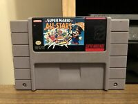 Super Mario All-Stars (Super Nintendo SNES 1993) Tested Working Auth Cleaned