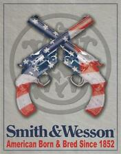 Smith & Wesson Tin Sign 1465