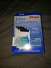Tetra Whisper Large Biobag Cartridge/ Filters  3 Pack New Original Packaging