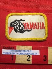 Vtg (little dirty) Yamaha Motorcycle Biker Patch C63C