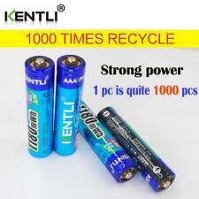 4pcs 1180mWh KENTLI 1.5V AAA li-polymer rechargebae lithium powerful batteries