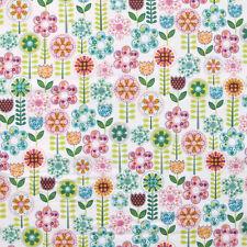 "MICHAEL MILLER ""FANTASY FLOWERS"" Multi yard"