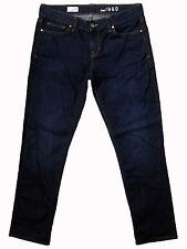 "GAP ""Real Straight"" low stretch indigo jeans 29S 12x29 nr new!"